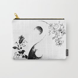 Yin and yang flower Carry-All Pouch