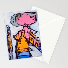 Lizard Lady Stationery Cards