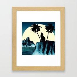 Wolf Bay Framed Art Print