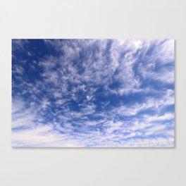 The Endless Deep Blue Sky Canvas Print