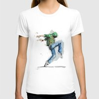 dancing T-shirts featuring dancing by digiartpicture