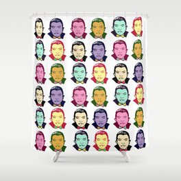 The Drac Pack  Shower Curtain