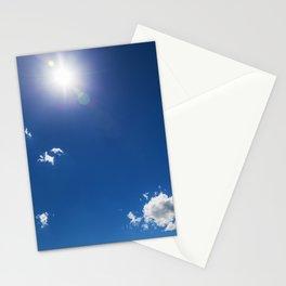 Cumulus Clouds 4 Stationery Cards