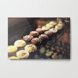 Cupcake corner bakery Metal Print
