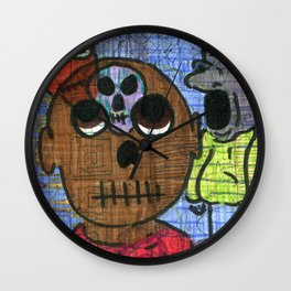 Those Nagging Thoughts Wall Clock
