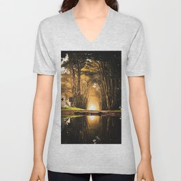 Magical Paradise (Color) Unisex V-Neck