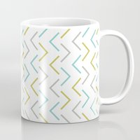 arrow Mugs featuring Arrow by C Designz