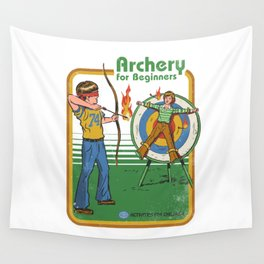 ARCHERY FOR BEGINNERS Wall Tapestry