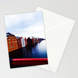 Colors Under Bridge  Stationery Cards