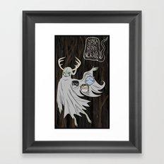 ...From the Trees. Framed Art Print