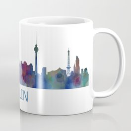 Berlin City Skyline HQ Coffee Mug