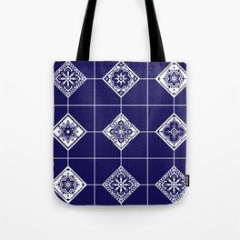 Talavera Mexican Tile – Porcelain Palette Tote Bag
