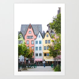 Vibrant Germany Art Print