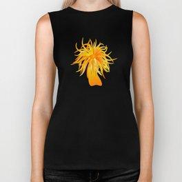 sea anemone Biker Tank