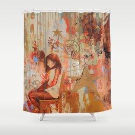 Gabi's World Shower Curtain