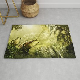 """""""Catch (Forest)"""" Rug"""