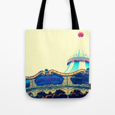 San Francisco Carousel Pier 39 Tote Bag