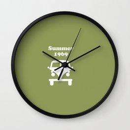 Summer 1969 - Green Wall Clock