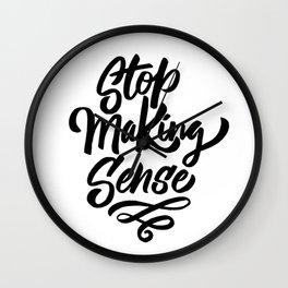 stop making sense Wall Clock