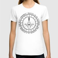bill cipher T-shirts featuring Bill Cipher - Light by Flaroh