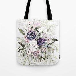 Purple Bouquet Tote Bag