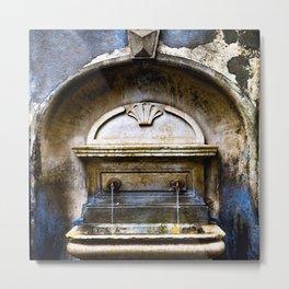 Fountain of Time Metal Print