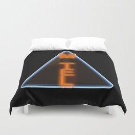 Motel Neon Duvet Cover