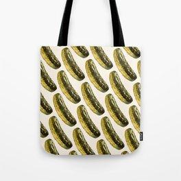 Pickle Pattern Tote Bag