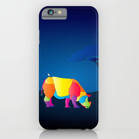 Paper Craft Rhino iPhone & iPod Case