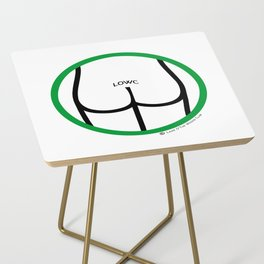 It's OK: Clothing not required here! Side Table