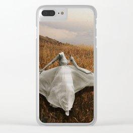 La Belle Dame Sans Merci Clear iPhone Case