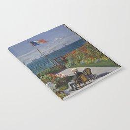 Claude Monet - Garden at Sainte-Adresse (1867) Notebook