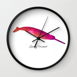 Lonely Dreamer 5 Wall Clock