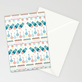Wagons & Wheels Stationery Cards
