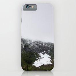 Green Glacier Alberta iPhone Case