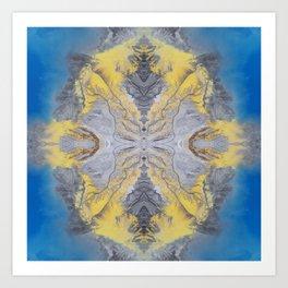 Earth Mandala 02 Art Print