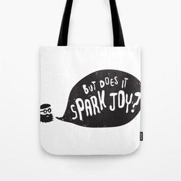 Marie F**king Kondo Spark Joy Tote Bag
