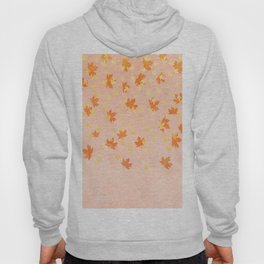 My favourite colour: Gold OCTOBER - Indian Summer - Rose Gold autumnal leaves Hoody
