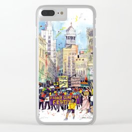 Second Line Parade, New Orleans Clear iPhone Case