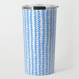 Vines - Blue Travel Mug