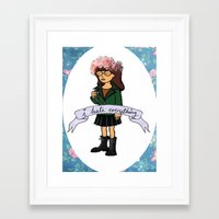 daria Framed Art Prints featuring Daria by Aliyahtakespictures