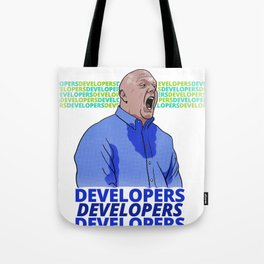 Steve Ballmer: Developers Developers! Tote Bag