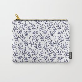 Indigo Leaves 2 Carry-All Pouch