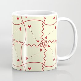Stitch heart Coffee Mug