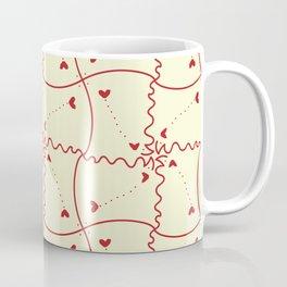 Stitch heart Coffee Mug