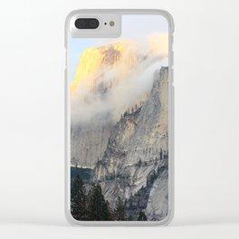 Golden Peak Clear iPhone Case