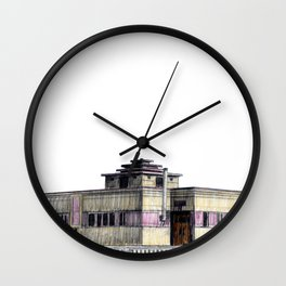 GALLERY SQUARE CHALET Wall Clock