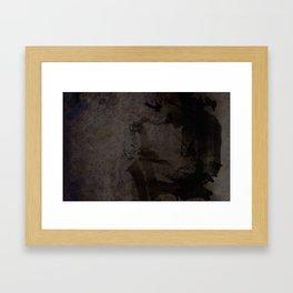 Jazzman laptop Framed Art Print