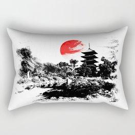 Abstract Kyoto - Japan Rectangular Pillow
