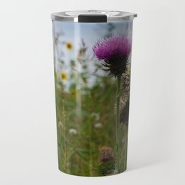 Sprouting Flowers Travel Mug